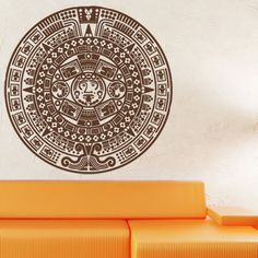 Style and Apply Maya Calendar Wall Decal Color: Royal Blue