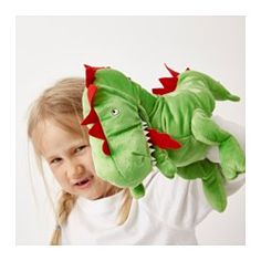 IKEA - LÄSKIG, Glove puppet,  , , Fits large as well as small hands.