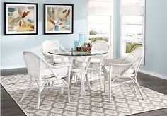Shop for a New Pacific Cream 5 Pc Dining Set at Rooms To Go. Find Dining Room Sets that will look great in your home and complement the rest of your furniture.