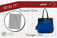 Win It! A Hayden-Harnett Tote and Passport Case - Via www.jetsetextra.com