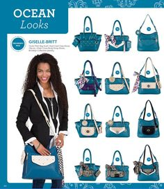 I'm in LOVE with the new Ocean collection from Grace Adele!! www.sallycraig.graceadele.us