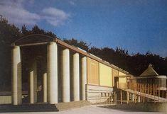 Arata Isozaki, Muzeum Sztuki Graficznej Okanoyama w Nishiwaki, prefektura Hyogo, 1982-1984