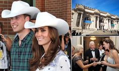 The Duke and Duchess of Cambridge will attend a fundraising dinner for St Andrew's University at the Metropolitan Museum of Art in Manhattan, New York, where tickets are costing up to £64,000.