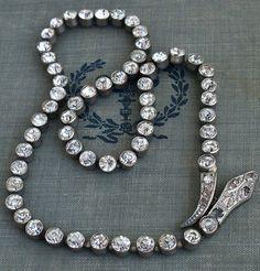slinky.  Erica Weiner - Rhinestone Snake Necklace