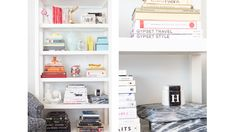 Hillary Kerr shows us how to update our bookshelf with playful accents and good reads
