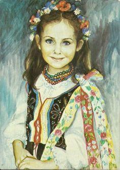 Polish artist, Danuta Muszynska-Zamorska; no title listed or found.