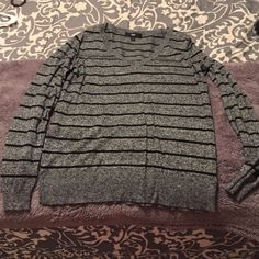 Target Grey and Black sweater Size Large, mossimo brand Mossimo Supply Co Tops