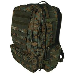 Fox Outdoor Products Advanced 3Day Combat Pack Digital Woodland >>> Visit the image link more details. Amazon Affiliate Program's Ads.