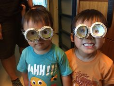 Step 12: Pass the minion goggles to your kids and let them be minions!!!