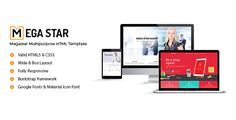 Megastar – Multipurpose HTML Template . Megastar – Multipurpose HTML Template is a responsive, clean and modern designed Corporate business template . Corpex is suitable for all creative people, agency, creative business, company, individual or agencies portfolios, product or service selling website etc..Megastar is a modern and creative