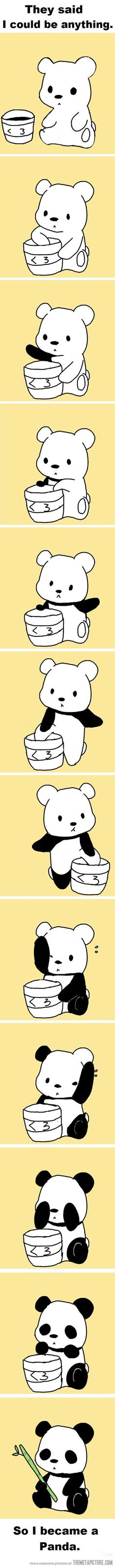 All bears just wanna be a panda bear