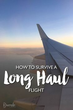 How to survive a long-haul flight with a downloadable checklist! #travelplanning #tripplanning #vacationplanning #traveltips #holidayplanning