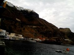 Old port of Fira#santorini#cyclades#Greece