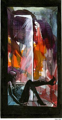"""Watercolor girl"" by Fábio Moon - Best Art Ever (This Week) - 02.01.13"