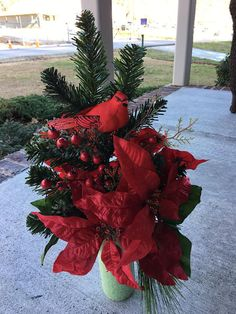 Cemetery FlowersWinter/Christmas ArrangementMemorial