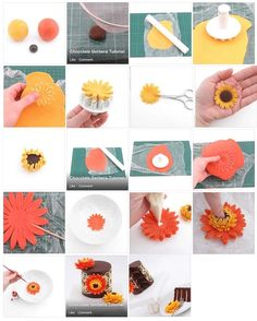 Beautiful Daisy Cake step by step...