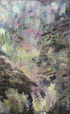 Hanami, impresja | Anna Chmiel #tree #watercplor #painting #annachmil #japan #art #abstract #landscape #watercolor #painting #anna_chmiel #malarstwo #krakow #hanami #danielsmith #danielsmithwatercolors