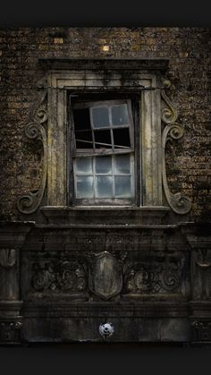 """Enjoy these 32 """"Creepy Abandoned Windows and Doors"""". It's no wonder we find these broken windows and doors creepy yet compelling. Abandoned Buildings, Abandoned Mansions, Old Buildings, Abandoned Places, Abandoned Castles, Photo Post Mortem, Magic Places, Broken Window, Haunted Places"""