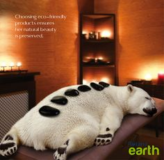 Choosing eco-friendly products ensures her natural beauty is preserved. #RotanaEarth