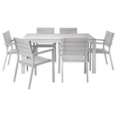 Falster Ikea   I Love The Looks Of This Outdoor Dining Set. Table  $175,Bench $75, Chair $39. | Furniture | Pinterest | Outdoor Dining, Dining  Sets And Bench