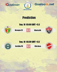 #Brazil #SerieB #Brasileirao #football #soccer #soccergame #footballtips #footballgame #sport #prediction #livescore #BrusqueFC #VitoriaBA #CoritibaPR #VilaNova