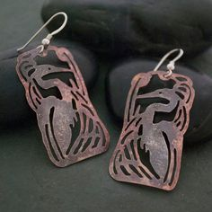 Hey, I found this really awesome Etsy listing at https://www.etsy.com/listing/68380835/copper-and-sterling-silver-heron