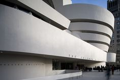 Frank Lloyd Wright. The Solomon R. Guggenheim Museum. New York. 1956-59 #architecture #nyc