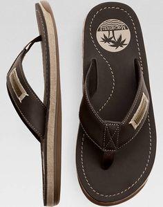 a13d11ee5d8b Margaritaville Quicksand Brown Flip Flops - Men s Sandals