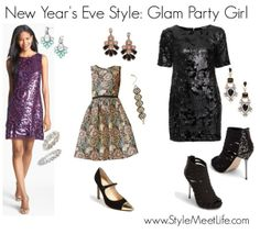 New Year's Eve Party Outfits #baublebar #nordstrom #newyearseve #nye