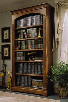 Towering Tomes Bookcase Woodworking Plan from WOOD Magazine $14.95 downloadable plans $17.95 mail direct printed plans