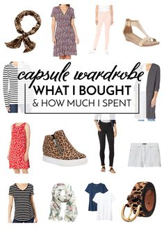 Wondering what it's like to assemble a capsule wardrobe? I'm sharing what I bought and how much it cost for a full year's worth of clothes! Kids Clothes Organization, Diy Organization, Clever Closet, No Closet Solutions, Amazon Essentials, My Shopping List, What Is Like, My T Shirt, Clothing Items