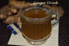 I never use to have ginger drink right form childhood even after knowing the benefits of having ginger drink. But finally only when we face some problems we suddenly search of a remedy that to a na...