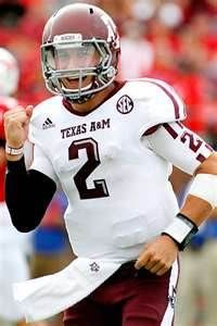 Johnny (Football) Manziel, QB for Texas A, is the Heisman trophy winner - first freshman to ever receive it! Johnny Manziel, Heisman Trophy, Sports Baby, Ole Miss, Mississippi State, Texas A&m, 12th Man, To My Future Husband, College Football