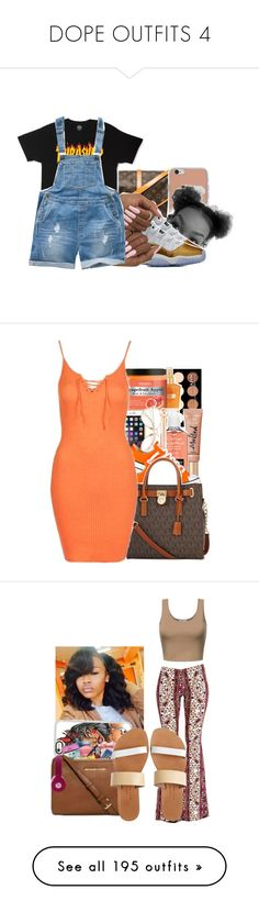 """""""DOPE OUTFITS 4"""" by gracepatterson ❤ liked on Polyvore featuring Louis Vuitton, Fat Face, NYX, Victoria's Secret, Neutrogena, Converse, Michael Kors, Topshop, Casetify and LULUS"""