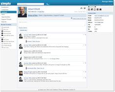 Contact in Zimplu CRM