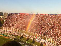 Club Atlético #SanLorenzo de Almagro - Verano - Arco iris sobre La Gloriosa #Butteler