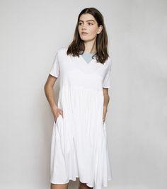 Poppy Dress - White