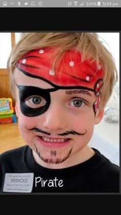 Face Painting Pirate 2