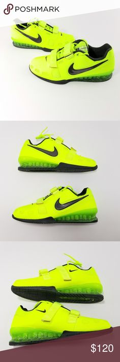 new style 8fa2b feb6f Nike Romaleos II 2 Power Lifting Shoes Men Sz 12.5 Brand New Without Box.  Mens