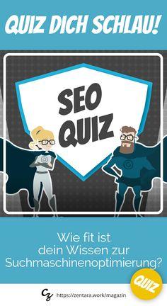 Jedes Monat neu, das Online-Business Quiz. Dieses Mal: Für alle SEO-Heros - Wie fit ist dein Wissen zur Suchmaschinenoptimierung? #quiz #marketing #seo