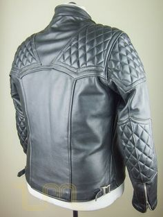 Vintage highwayman motorcycle leather jacket... They just dont make em like they use to