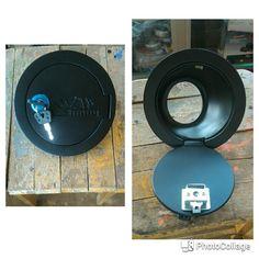 jual tutup bensin rata -untuk mobil jimny katana -warna hitam, bahan fiber ,model polos pake kunci -hubungi tomato ,082210151782