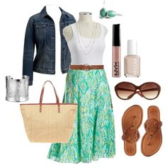 Summer Skirt - Plus Size #plus #size