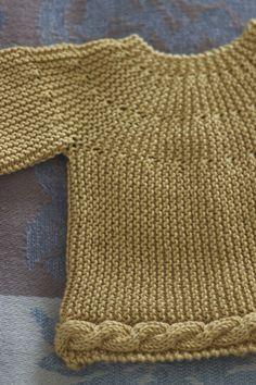 Suéter mostaza