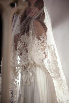 Wow-worthy bridal veils
