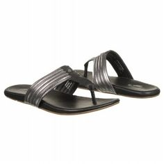 Olukai Mahina Sandals (Steel/Black) - Women's Sandals - M Women's Sandals, Steel, Black, Fashion, Moda, Black People, Fashion Styles, Fashion Illustrations, Steel Grades