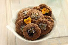 pansies cookies