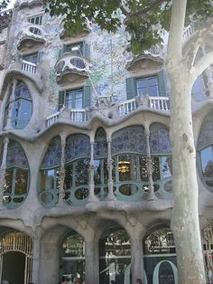 "It was labeled ""Art Nouveau architecture"". I don't know much about that but I know I like it....."