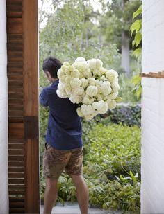 the botanical farmhouse January 2017 Photo Greg Cox Stylist Chrizanda Botha & Tiaan Nagel 2017 Photos, January, Stylists, Bloom, Farmhouse, Flowers, Royal Icing Flowers, Cottage, Flower