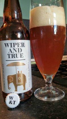 Wiper and True Citrus And Sevens IPA #CraftBeer #RealAle #Ale #Beer #BeerPorn…